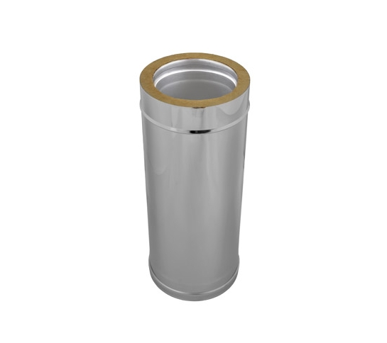 Double wall chimney pipe L-0,5m